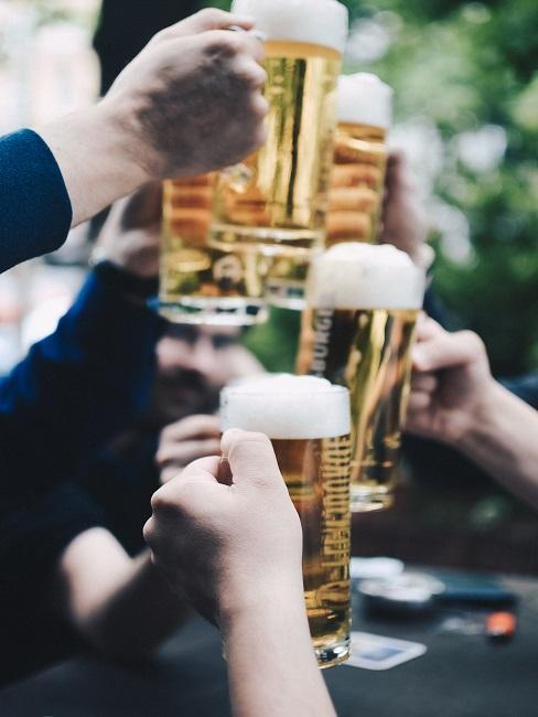 Prípitok pivom