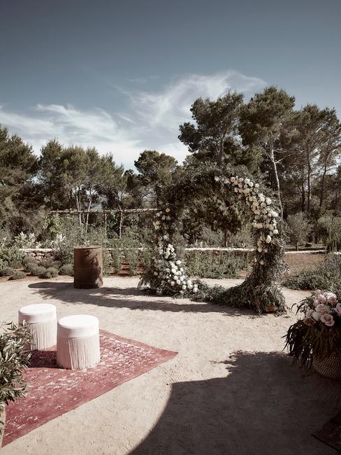 svadba v záhrade