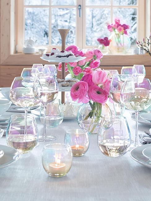 Ružové a fialové doplnky