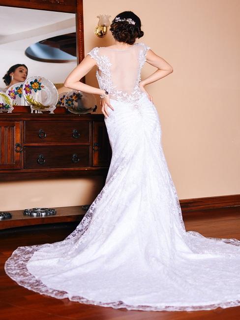 Nevesta pripravená na svadbu