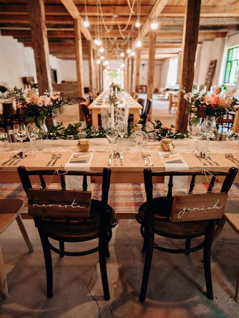 Zelený deň: svadobná hostina