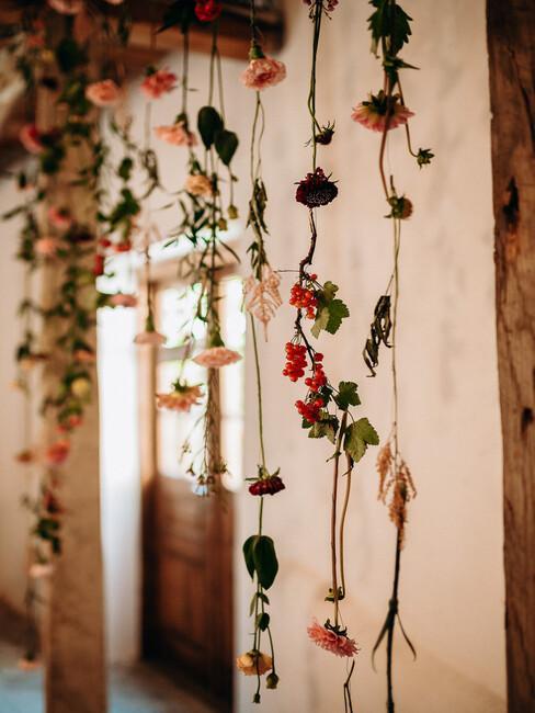 Zelený deň: kvetinová dekorácia