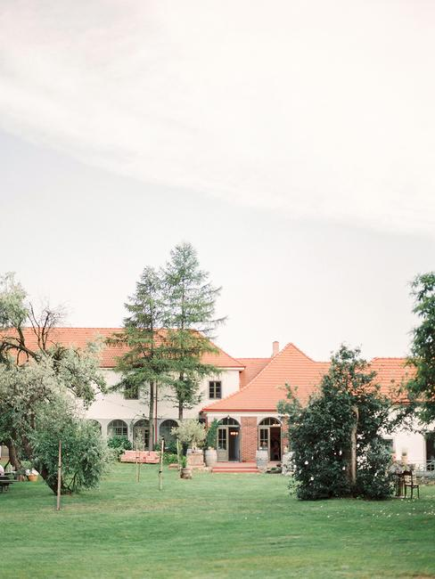 Wiegerova vila: záhrada
