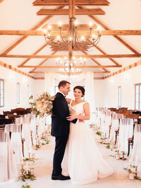 Wiegerova vila: svadobný obrad