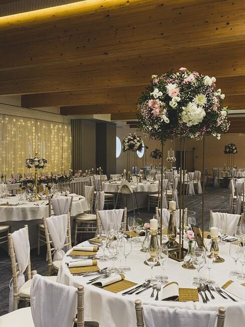Château Gbeľany: svadobná hostina