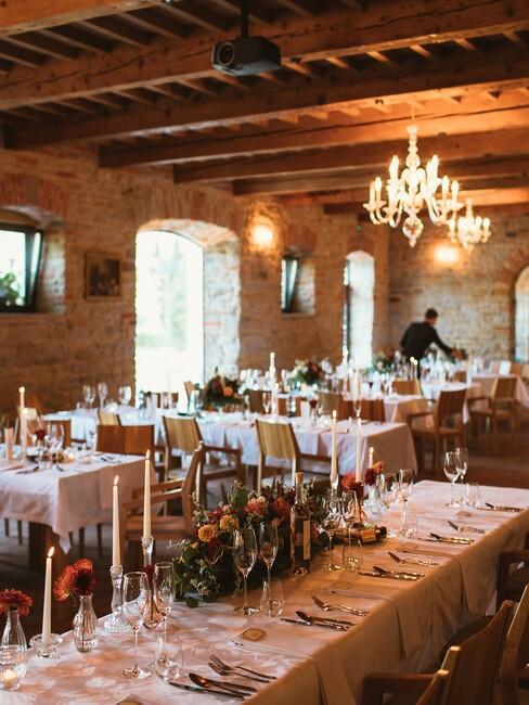 Kaštieľ Kubínyi: svadobná hostina