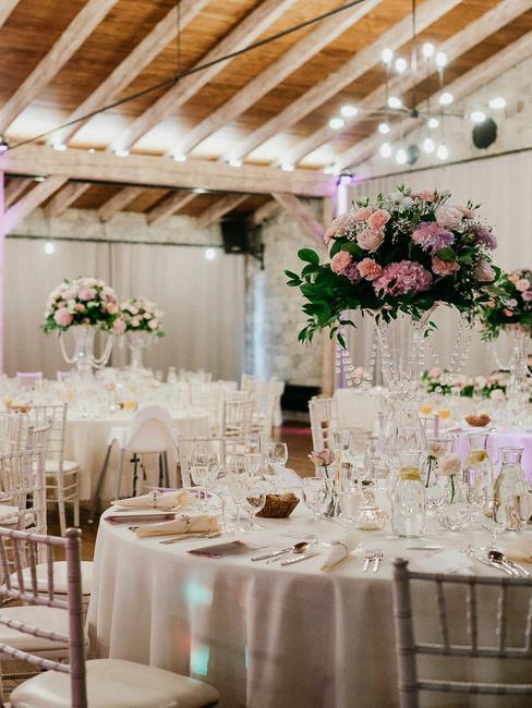 Meridiana Bojnice Resort: výzdoba svadobného stola