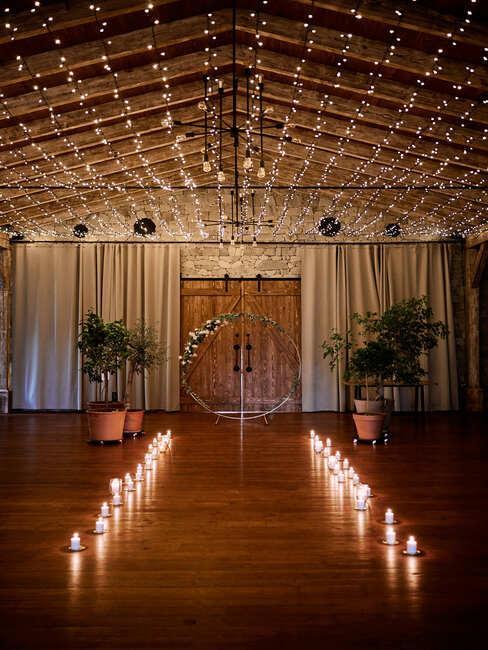 Meridiana Bojnice Resort: svadobný oblúk a sviečky