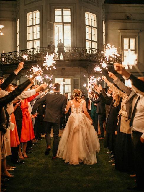 Park Hotel Tartuf: hostia vítajú svadobný pár