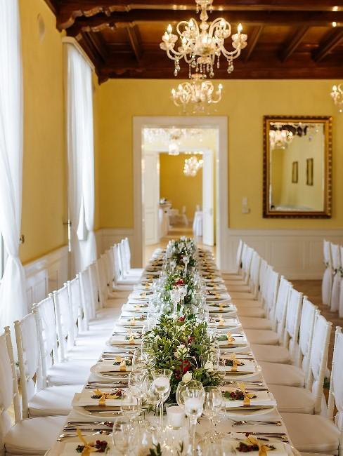 Park Hotel Tartuf: svadobná hostina