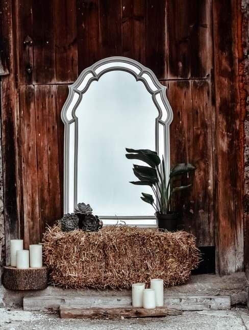 interiér v štýle rustic