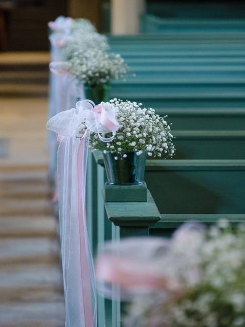 tyrkysová svadobná dekorácia