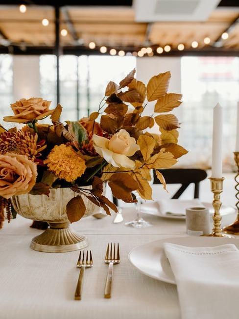 svadobné aranžovanie z kvetín