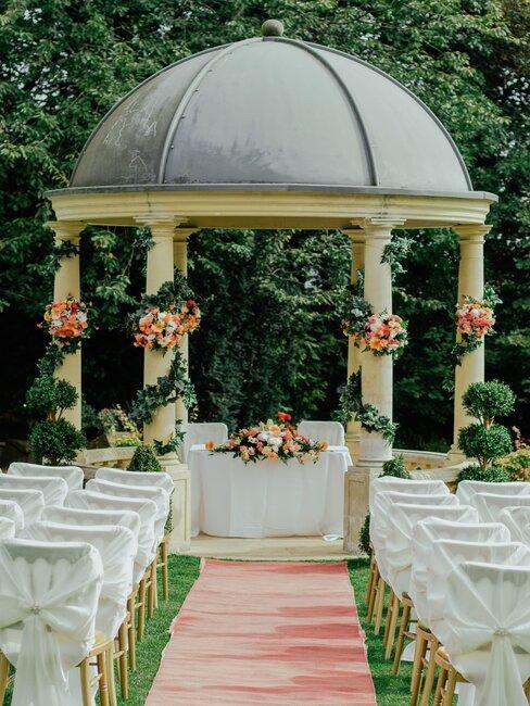 Očarujúce miesto na svadbu