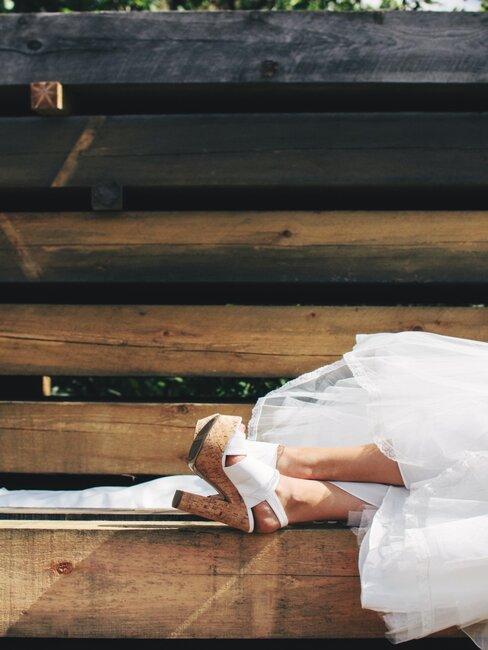Nevestine svadobné lodičky
