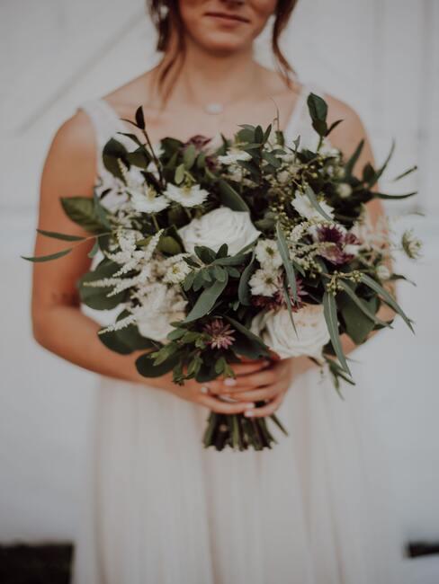 Kvety na svadbu: kytica pre nevestu