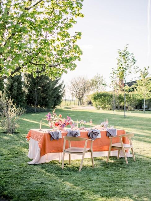 Jarabina: svadobná kvetinová výzdoba