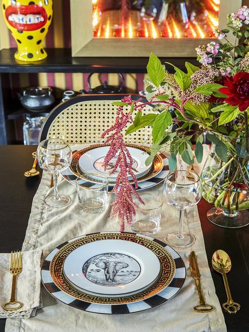 Prestieranie na stôl vo vintage štýle
