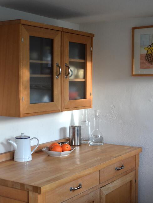 Kuchyňa: vidiecky štýl nábytku