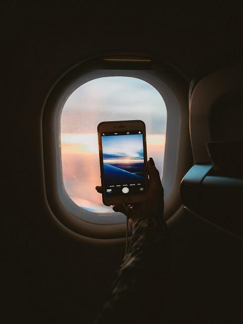 Fotka z okna lietadla