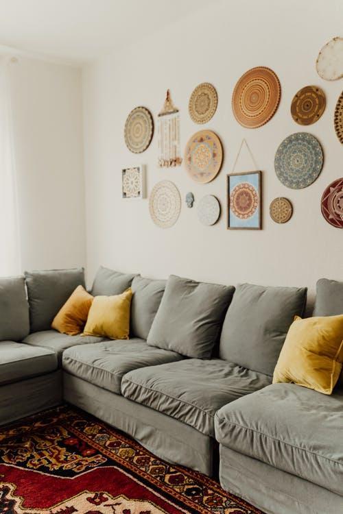 dekorácie na stene