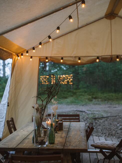 Glamping: varenie v prírode