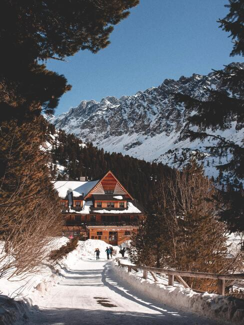 Turistika na Slovensku: zima v Tatrách