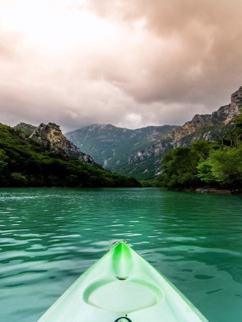 Dovolenka na Slovensku pri vode: kajaky