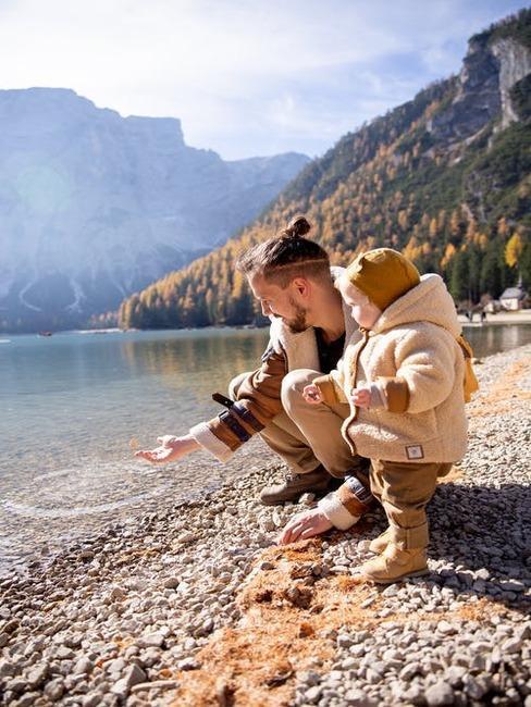 dovolenka s deťmi pri jazere