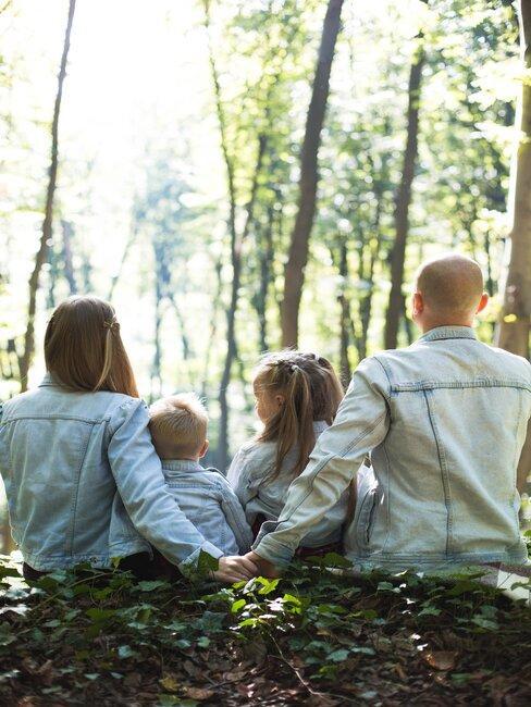 rodinná dovolenka v prírode