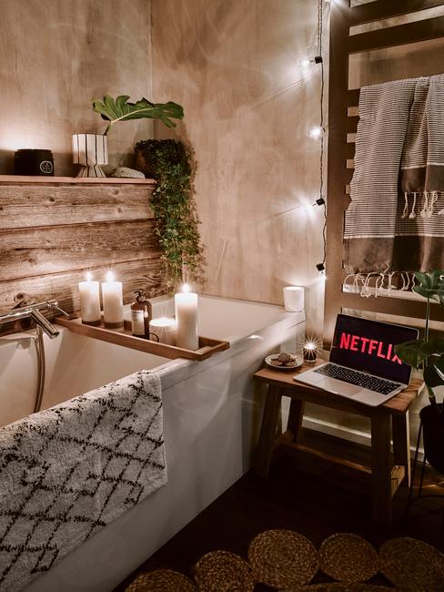 Netflix a chill v kúpeľni