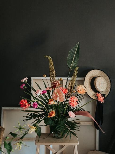 Aranžovanie kvetov: veľká letná kytica