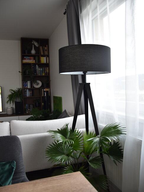Osvetlenie v obývačke u Nikol