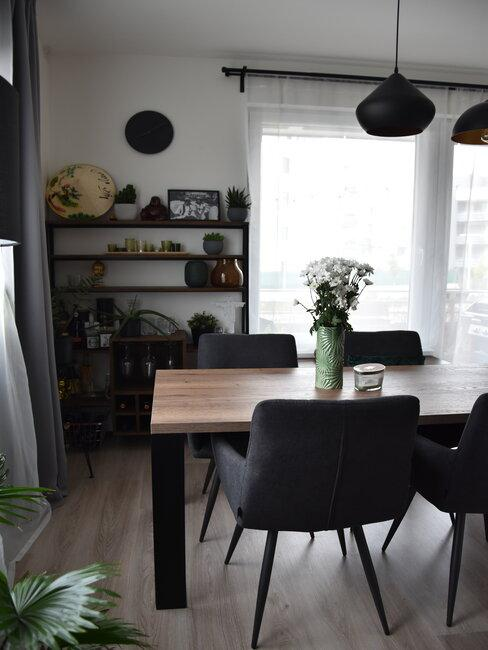 Obývačka s kuchyňou u Nikol