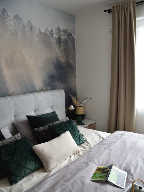 Dekoračné vankúše u Nikol v spálni