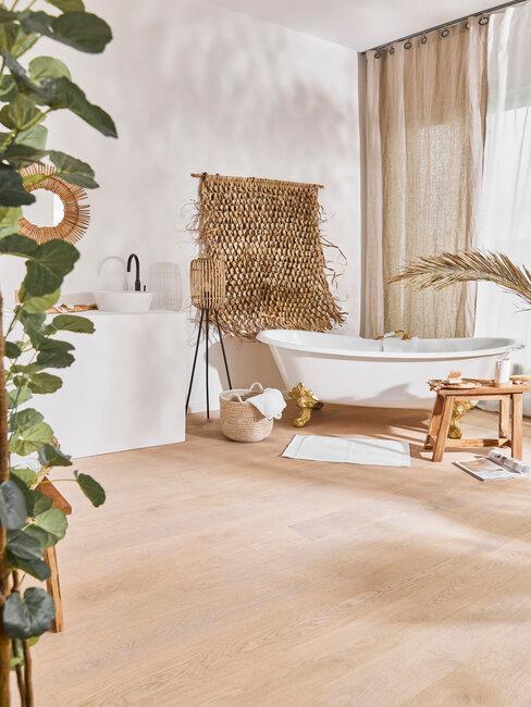 Béžová dlažba do kúpeľne