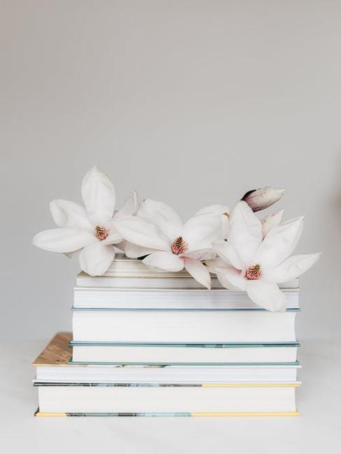 kvety a knihy