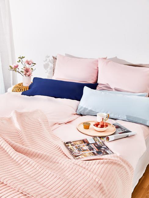 Saténová posteľná bielizeň
