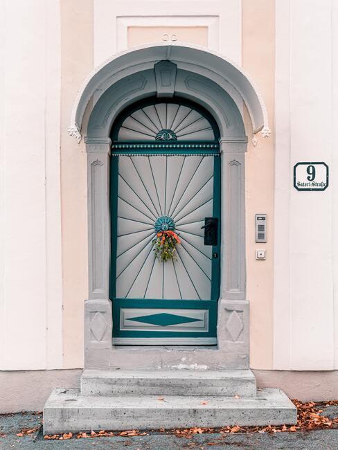Jesenné dekorácie na dvere
