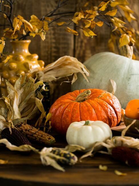 Dekorácie zo sušených listov