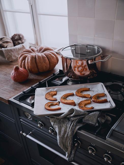 Ako vyzdobiť tekvicu: tekvica v kuchyni