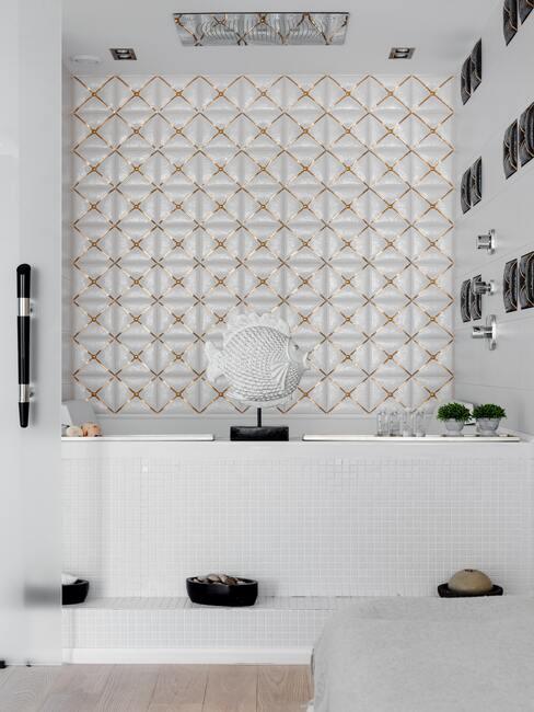 Doplnky do kúpeľne v bielej farbe