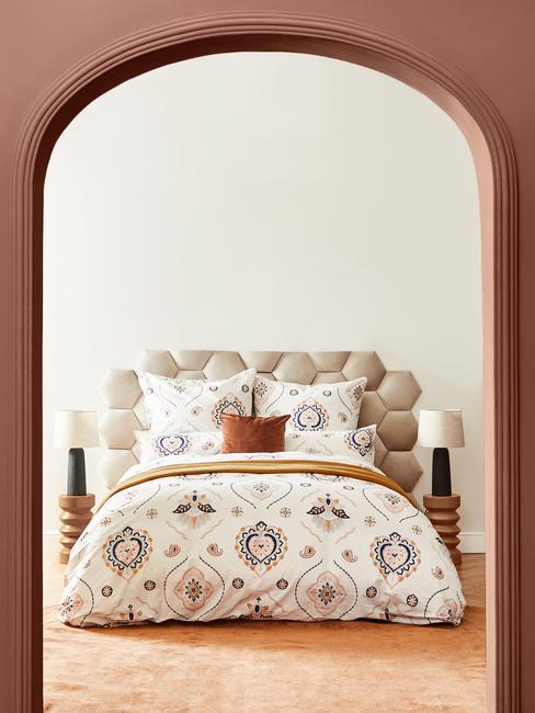 Vintage spálňa