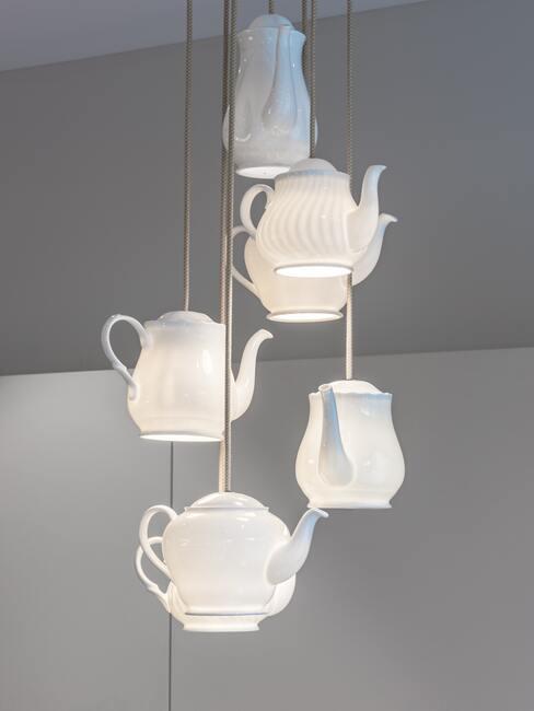 Zo starého nové nápady: špeciálne lampy
