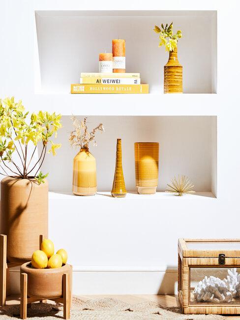 dekorácie z ekologických materiálov