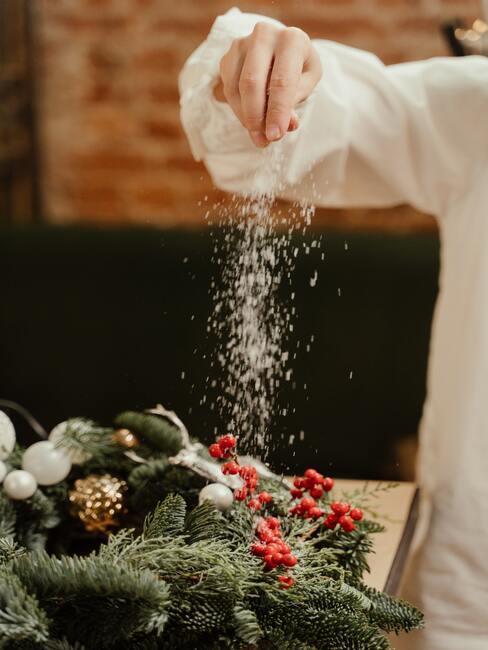 Výroba vianočných dekorácií