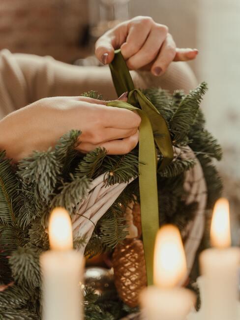 DIY dekorácie na Vianoce