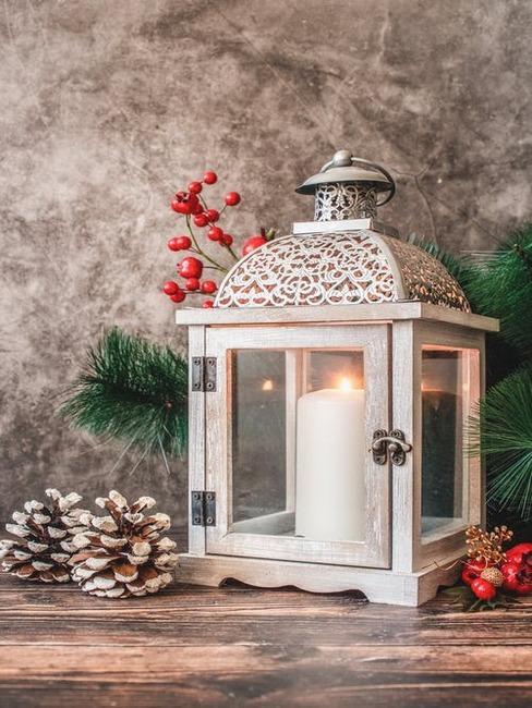 vianočný lampáš