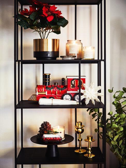 Vianočná kvetinová výzdoba a dekorácie