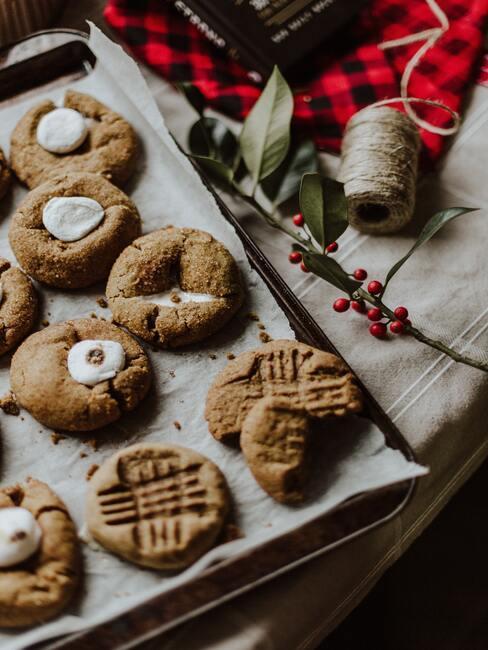 Vianočné sušienky rôznych tvarov